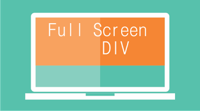 full screen div css
